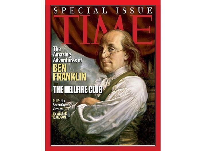 """SABÍAS QUE… Benjamin Frankin el gran estadista y científico norteamericano, pertenció al exclusivo """"Club Hellfire""""??"""