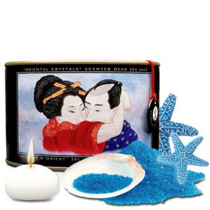 OCEANIA Sales de Baño 600gr Cristales de Oriente de la Marca SHUNGA Egolala Eroteca Valencia