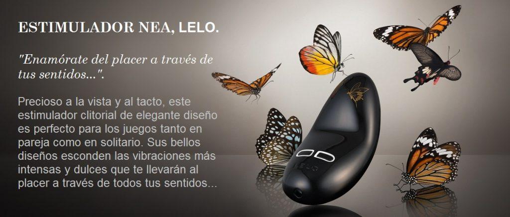 NEA 2 Estimulador Clitorial Lelo Egolala Eroteca Valencia