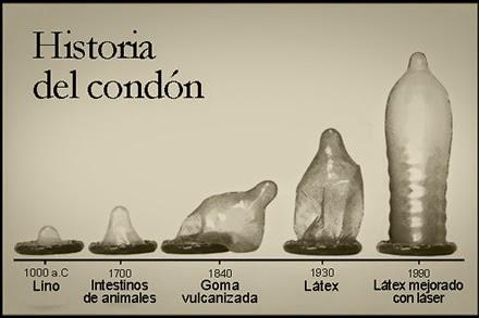 """Sabías que… Fue a mediados del año 1.600 cuando se empezaron a utilizar los """"Primeros Condones""""??."""