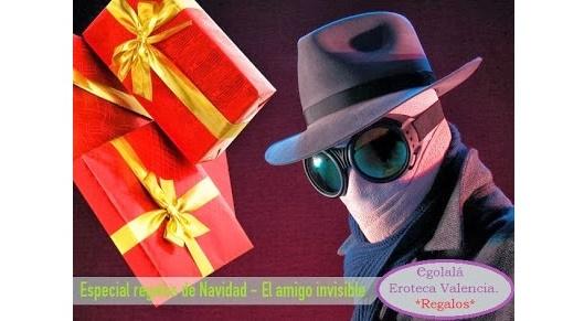 Prepara tu AMIGO INVISIBLE con Egolala Eroteca Valencia