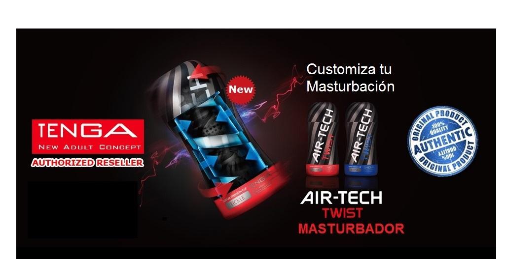 Novedades Air-Tech TWIST TICKLE (Rojo) o RIPPLE (Azul) de la Marca TENGA, Consiguelas en EGOLALÁ EROTECA VALENCIA!!