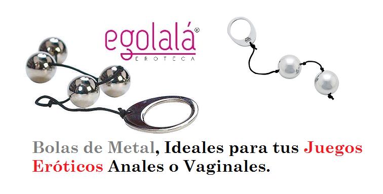 Bolas Anales o Vaginales de Metal, un Juguete Erótico que esta de Moda.