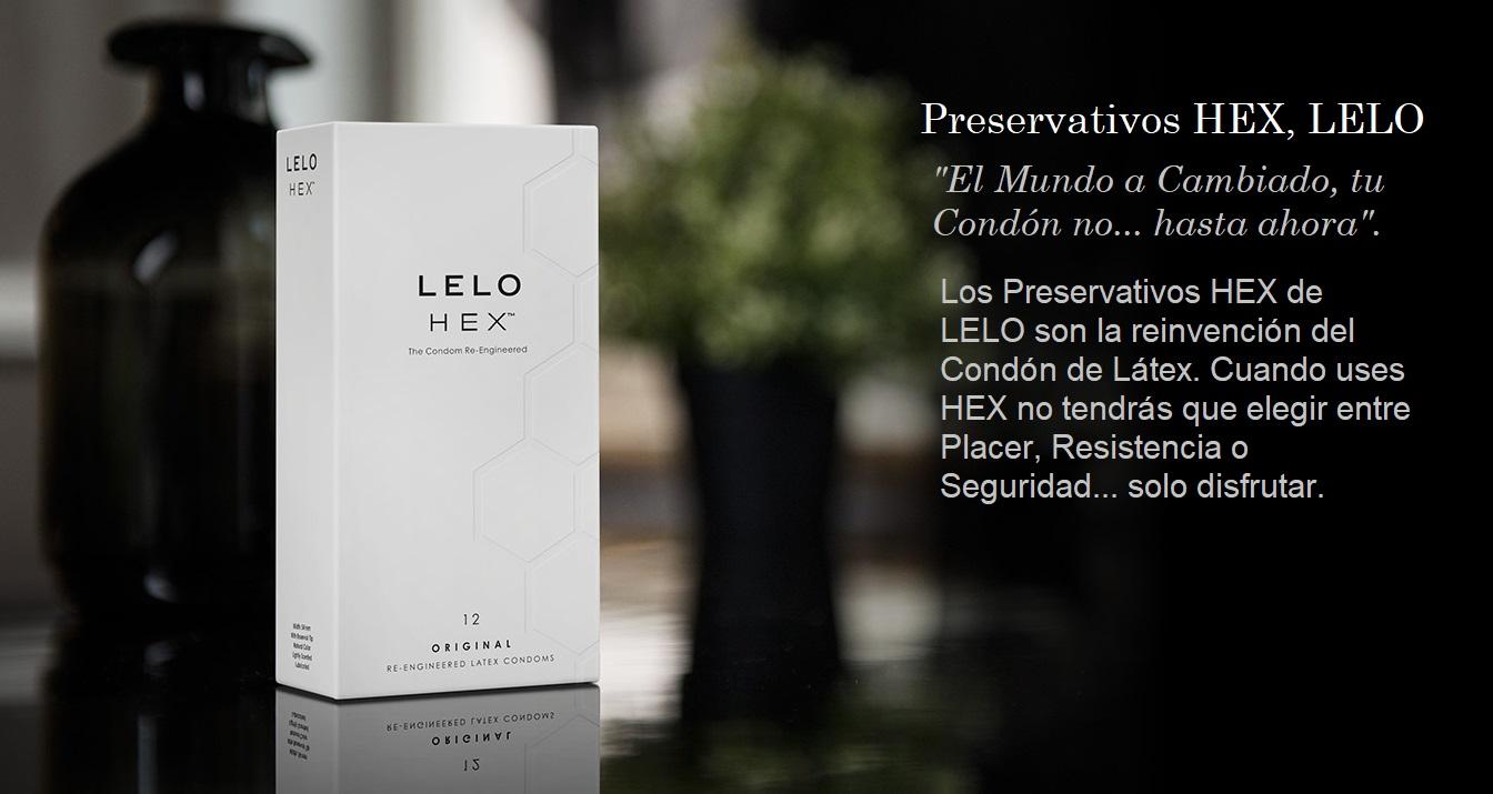 Preservativo Natural LELO HEX, Una Obra del Diseño y la Ingeniería de la Marca LELO.