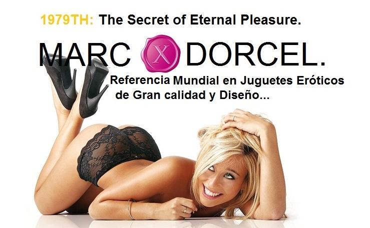 MARC DORCEL, Referencia de Calidad y Diseño en Juguetes Eróticos en EGOLALÁ EROTECA VALENCIA.