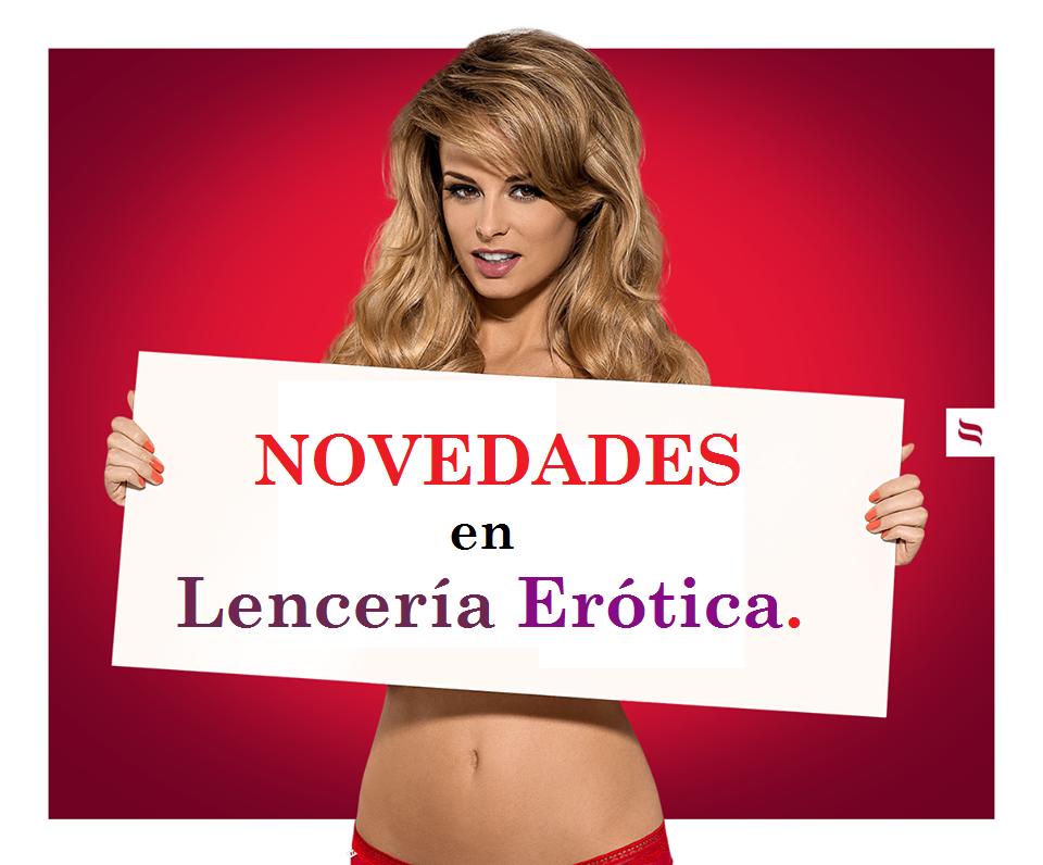 NOVEDADESenLencería EróticaOBSESSIVE Egolala Eroteca Valencia 1