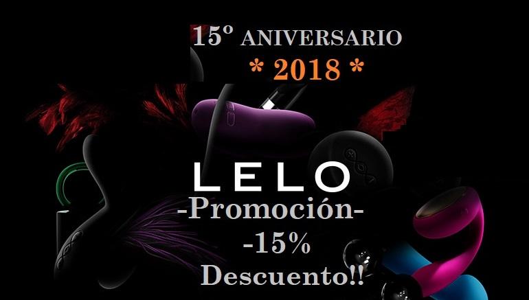 PROMOCIÓN LELO, 15º Aniversario!!, Lyla 2 y Gigi 2 al 15% de Descuento!!