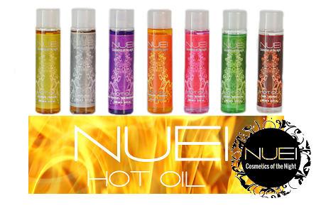 hot oil aceites masaje efecto calor nuei egolala eroteca valencia
