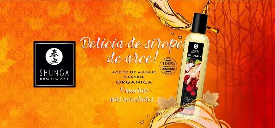 aceites masaje marca shunga egolala eroteca valencia