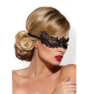 mascara de encaje negro obsessive egolala eroteca valencia 1