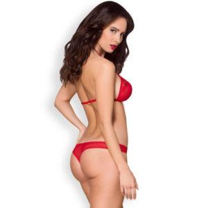 870 S/M Rojo Set 2PCS de la Sensual Marca OBSESSIVE Egolala Eroteca Valencia-2