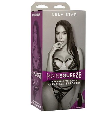 LELA STAR Masturbador Vagina Realista Tacto ULTRASKYN Colección MAINSQUEEZE de la Marca Doc Johnson Egolala Eroteca Valencia 1