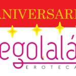 7º ANIVERSARIO en EGOLALA EROTECA VALENCIA, Tienda Erótica  y Sex Shop en Valencia!!