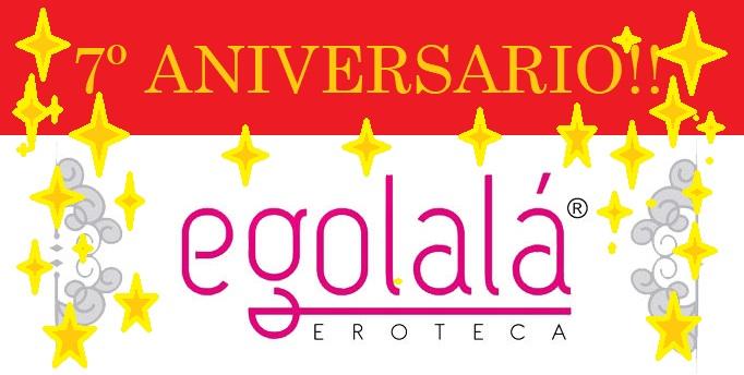 3 Sorteos Eróticos 7 Aniversario EGOLALA EROTECA VALENCIA