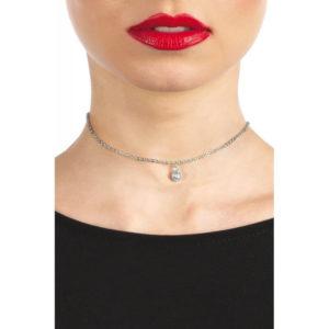 LISE Collar Espalda Plata Ajustable de la Marca BIJOUX POUR TOI Egolala Eroteca Valencia-2