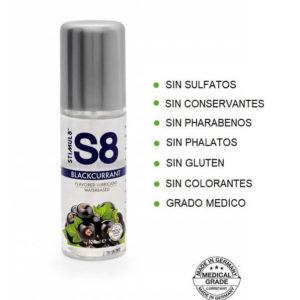 S8 Lubricante Sabor GROSELLA 125ml de la Novedosa Marca STIMUL8 Egolala Eroteca Valencia-2