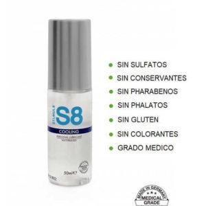 S8 Lubricante COOLING 125ml de la Novedosa Marca STIMUL8 Egolala Eroteca Valencia-2