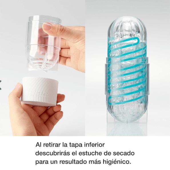 SPINNER Masturbador Efecto Espiral de la Innovadora Marca TENGA Egolala Eroteca Valencia-3