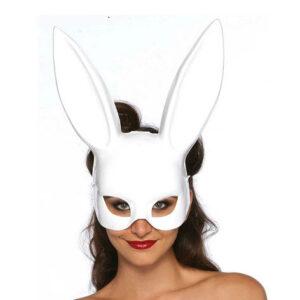 MASQUERADE RABBIT WHITE Mascara Conejo Blanco Leg Avenue Egolala Eroteca Valencia 1