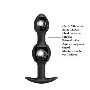 SILICONE ANAL BALLS 12,5cm Diseño Kegel Marca PRETTY LOVE Egolala Eroteca Valencia-2