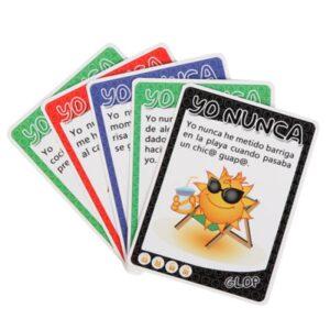 GLOP YO NUNCA Baraja de Cartas de la Marca GLOP GAME Egolala Eroteca Valencia-2