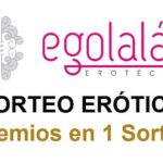 3 Sorteos Eróticos en 1, por nuestro 8º ANIVERSARIO!!, en EGOLALA EROTECA VALENCIA, Tienda Erótica y Sex Shop Valencia